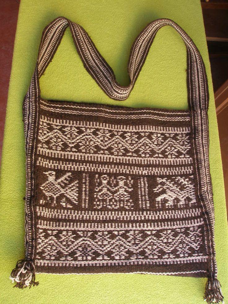 Huichol. Supplementary warp patterning