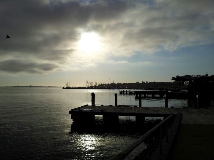 Sunrise @Geelong Waterfront