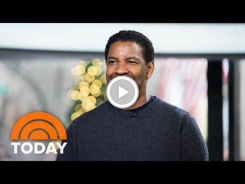 #Denzel Washington Talks About New Film '#Fences,' #Golden Globe Nomination | #TODAY