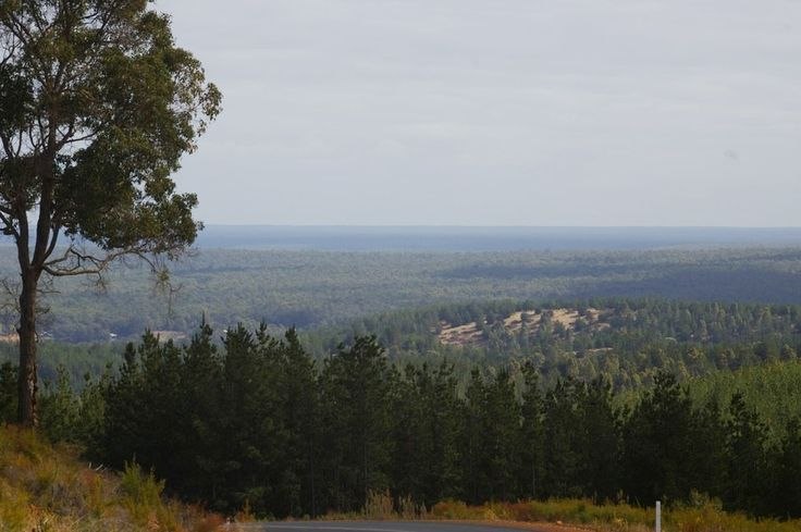 A view from the top of the Bridgetown Hill, just east of Nannup. #nannuprealestate #naturallynannup