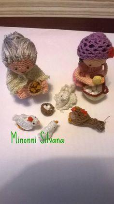 la pollaia #presepe#crochet #amigurumi#uncinetto