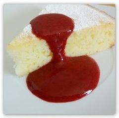 Zitronen Joghurt Kuchen mit Brombeersoße #glutenfrei #glutenfree