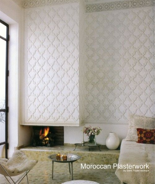 Beautiful Moroccan plaster work that you can purchase ...