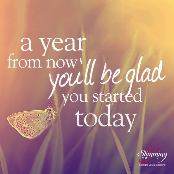 If you're thinking about starting your weight-loss journey, this inspiring quote could be just the motivational kick-start you need. #slimmingworld