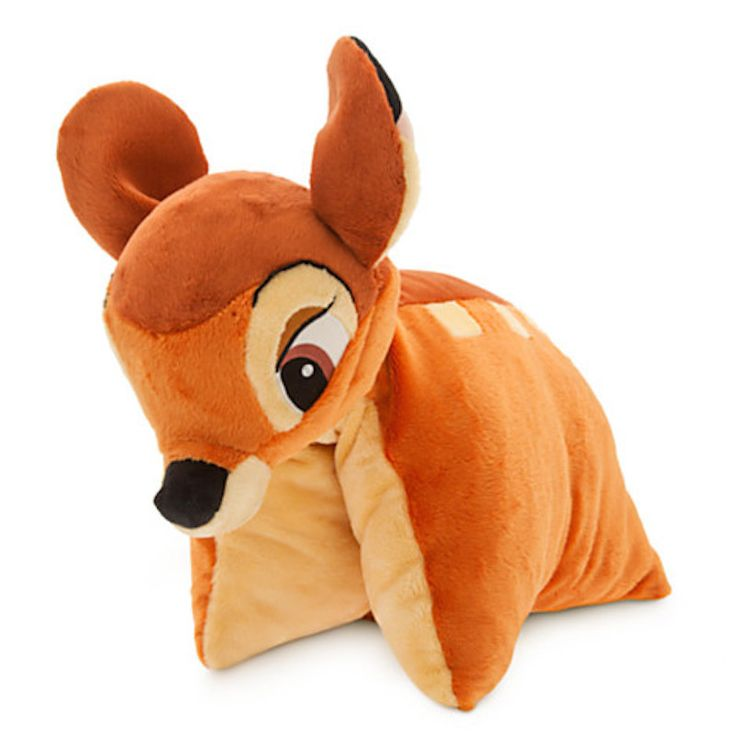 disney parks bambi reverse pillow pet plush new with tag