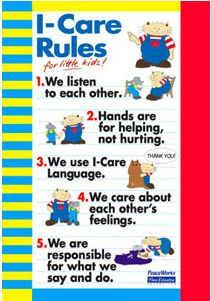 I-Care Rules lessons and conflict resolution unit