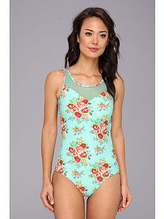 Cute Mint-rose bathing suit, Zappos.com