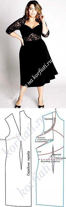 Patrones para vestidos completos: vestido de noche / Otros costura / coser