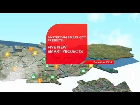 5 new Amsterdam Smart City Projects - YouTube