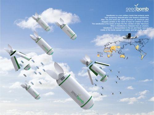 SeedBomb. Bombas de semillas. / EcoInventos.com