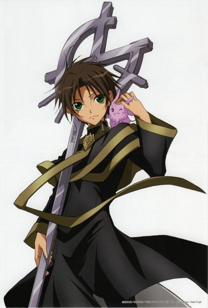 Teito and Mikage from 07 Ghost Mikage is so cute!!!!!!!! Burupya!!!!