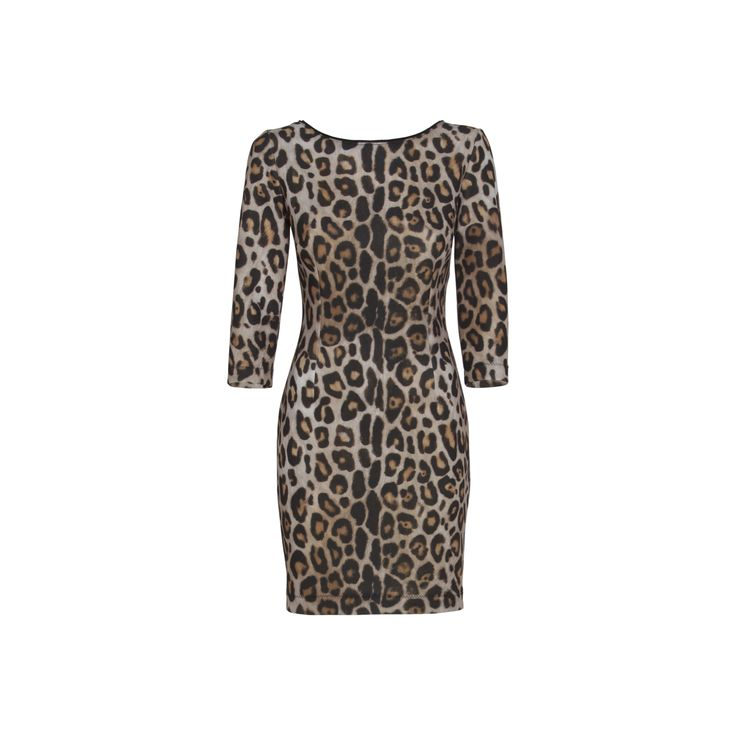 Mix this leopard print dress with brown or beige coat and accessorise. You will look elegant and seductive. #mariagraziaseveri #mgs #fw14/15 #style #fashion #lookoftheday #dress