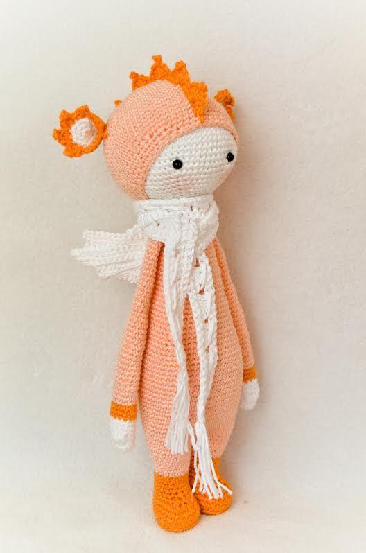 DIRK the Dragon made by Alexandra Sch. / crochet pattern by lalylala
