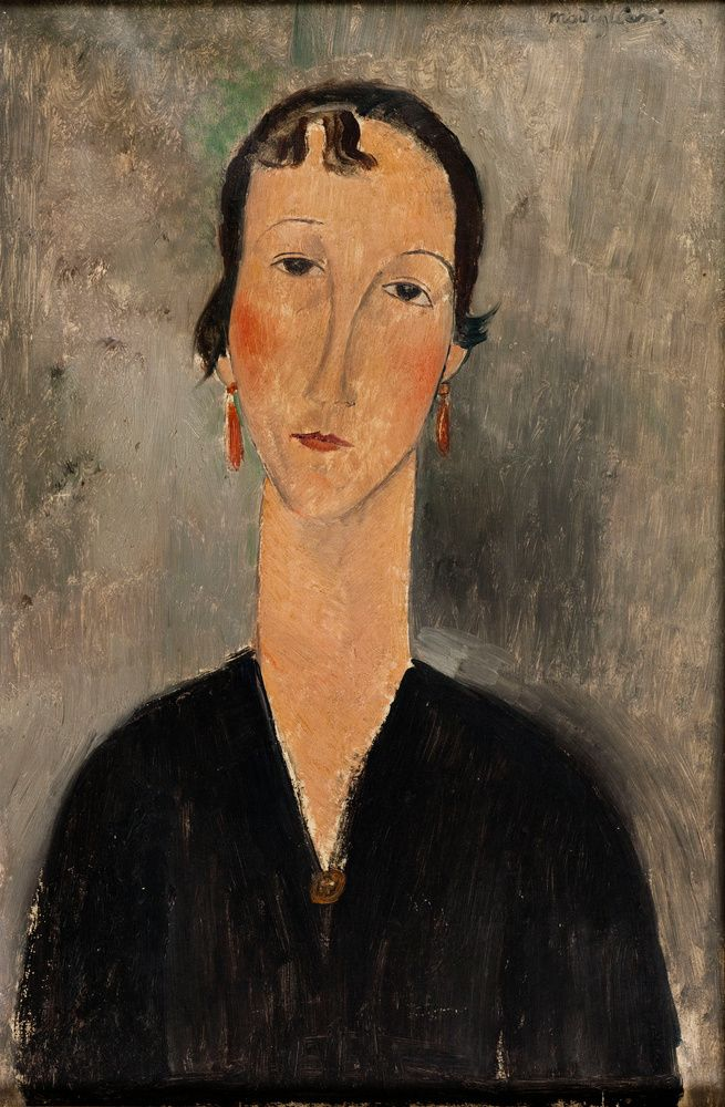 Souvent 940 best Amadeo Modigliani images on Pinterest | Amedeo modigliani  LK19