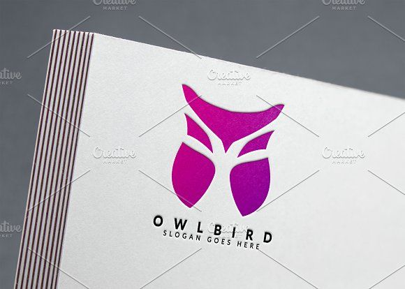 Owl Logo by Aghadhia on @creativemarket