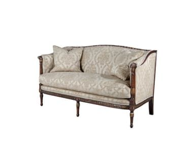 A Finely Carved And Gilt Neo Classical Sofa, The Gently Undulating  Rectangular Padded Back