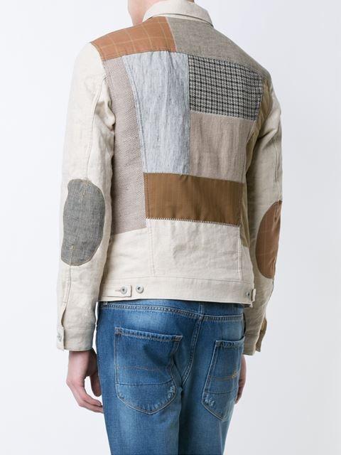 Junya Watanabe Comme Des Garçons Man patchwork jacket
