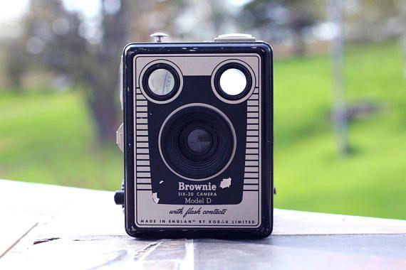 Vintage Kodak Brownie six-20 Model D Caméra Kodak Vintage