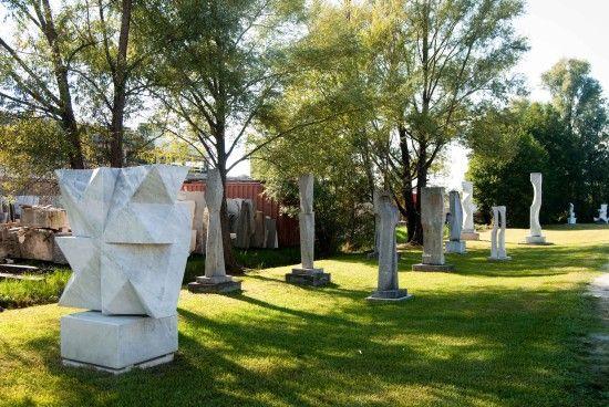 Modulazione solare e altre scultore, Michele Benedetto http://musapietrasanta.it/content.php?menu=artisti