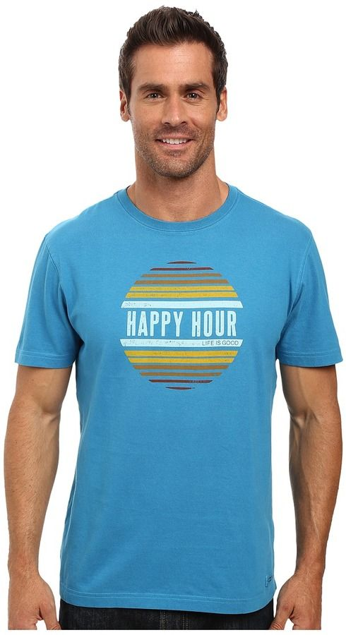 Life is Good Happy Hour Sun Crusher Tee