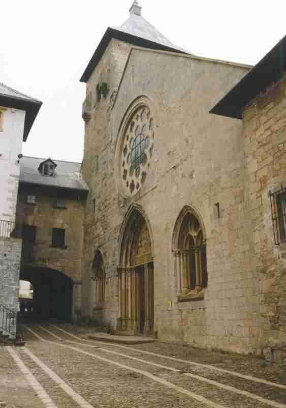 Roncesvalles Abbey - Camino de Santiago en Navarra, Spain