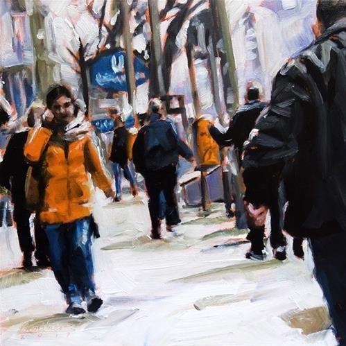 "Daily Paintworks - ""251 Kottbusser Damm"" - Original Fine Art for Sale - © Anja Berliner"