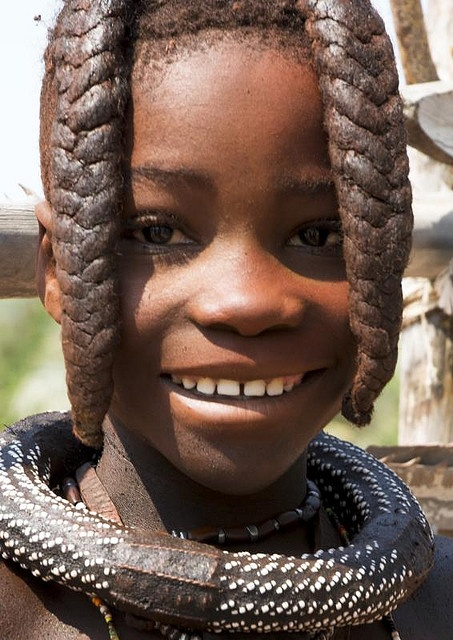 Jeune enfant himba. Namibie by courregesg, via Flickr