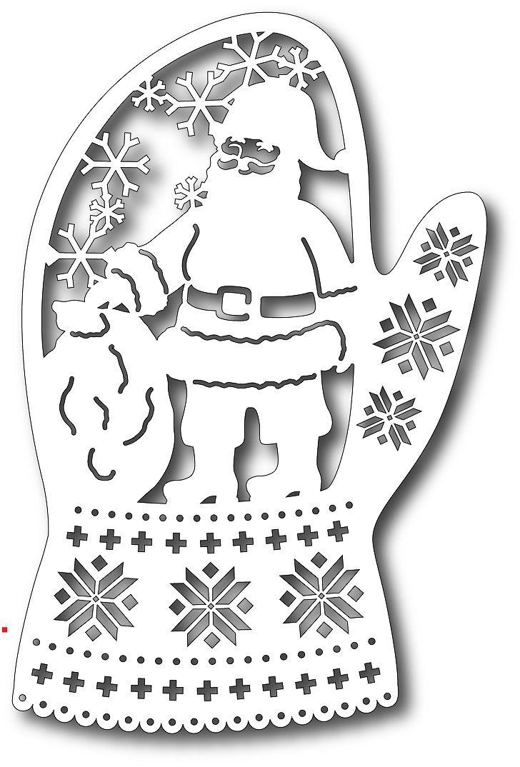 Tutti Designs - Cutting Die - Santa in Mitten,$12.49