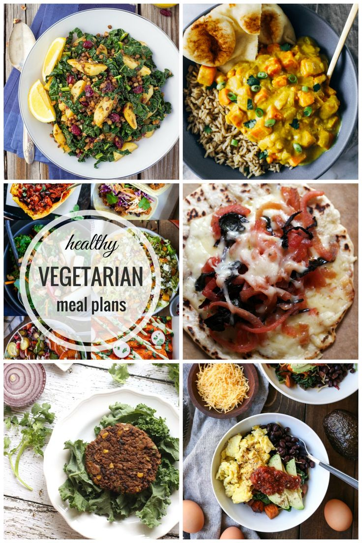 30 best healthy vegetarian meal plans images on pinterest week 29 healthy vegetarian meal plans tons of delicious and healthy vegetarian recipes that forumfinder Images