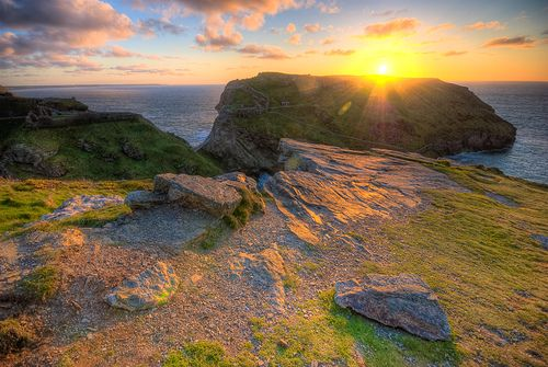 One of my favourite places to walk. Tintagel Cornwall