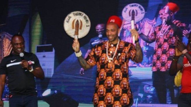 Arsenal legendThierry Henryhas expressed surprise that he was nicknamed Igwe meaning king by Nigerian fans.  The former France striker said this during his visit to Nigeria over the weekend.  He was hailed Igwe by fans as he arrived the Landmark Centre Hall Lagos as a guest in the Guinness Made of Black campaign.  According to the former Barcelona star his ex-teammate Kanu Nwankwo did not inform him he was dubbed such name.  [Nwankwo] Kanu never told me Henry said.  He also said that Kanu…