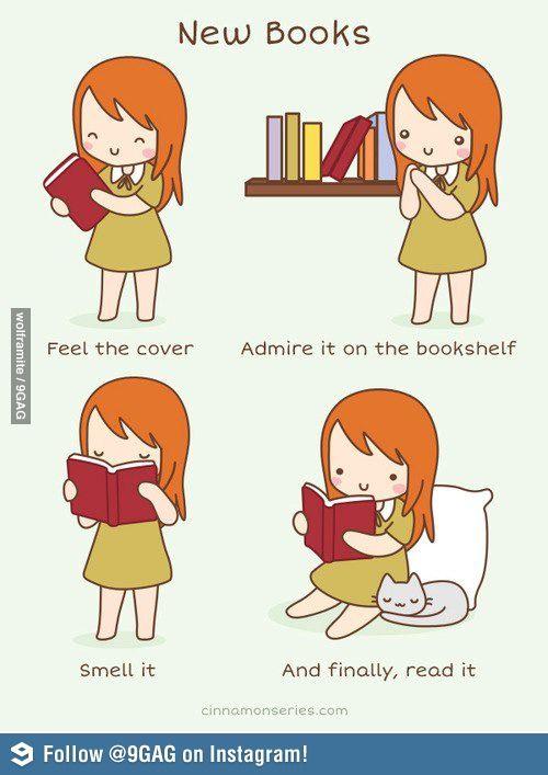 New Books... ya i definitely do this!!!