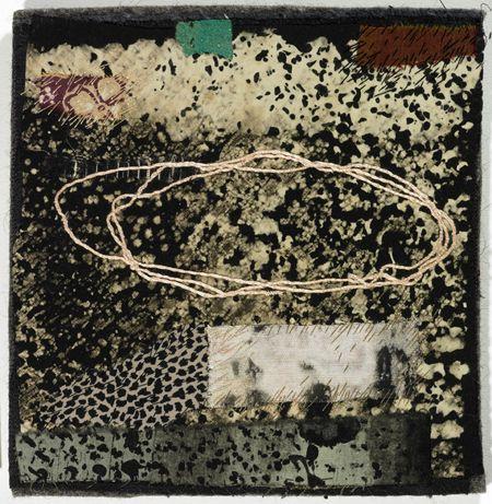 Dorothy Caldwell...Path...applique, stitching 2005