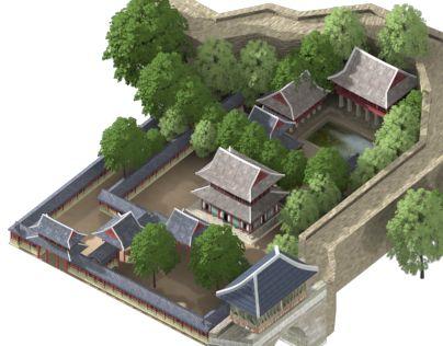 "Check out new work on my @Behance portfolio: ""Korean Palace & BigGate"" http://be.net/gallery/32486113/Korean-Palace-BigGate"