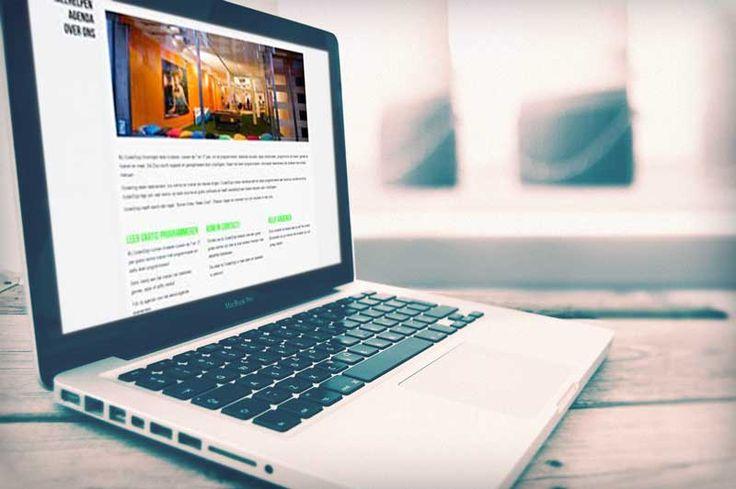 responsive #WordPress website Coderdojo Groningen