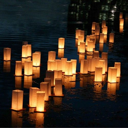Chinese Floating Paper Lanterns - pack of 2
