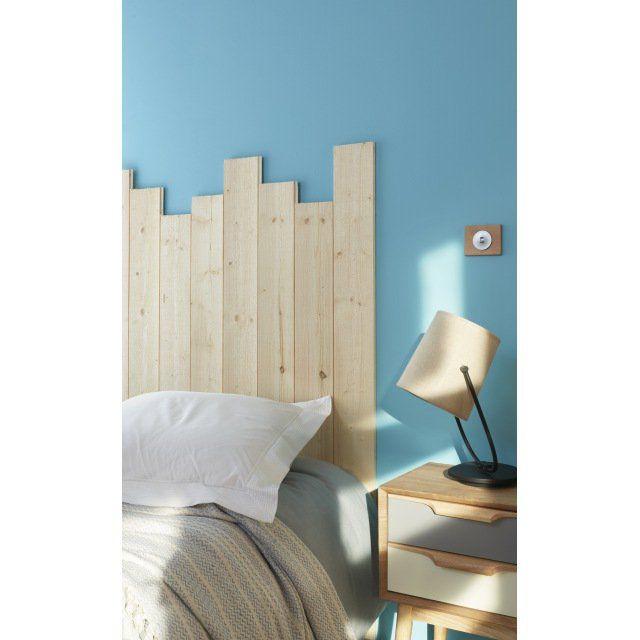 ampm tete de lit bois top pm tte de lit chne massif h cm darsir with ampm tete de lit bois. Black Bedroom Furniture Sets. Home Design Ideas