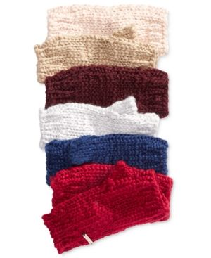 BCBGeneration Thick and Thin Fingerless Gloves, A Macy's Exclusive Style - Tan/Beige