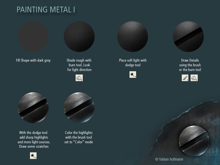 Photoshop tutorial · Digital Painting ... & 36 best [3d] Armor/Metal/Metalics/Plate images on Pinterest ... azcodes.com
