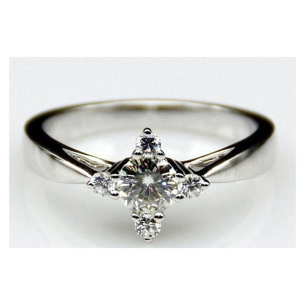 Peter Pan Second Star to the Right Engagment Ring Promise Ring Wedding... ❤ liked on Polyvore featuring rings