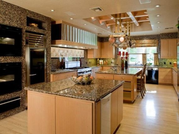 Luxury Kitchen. Interior ... Part 56
