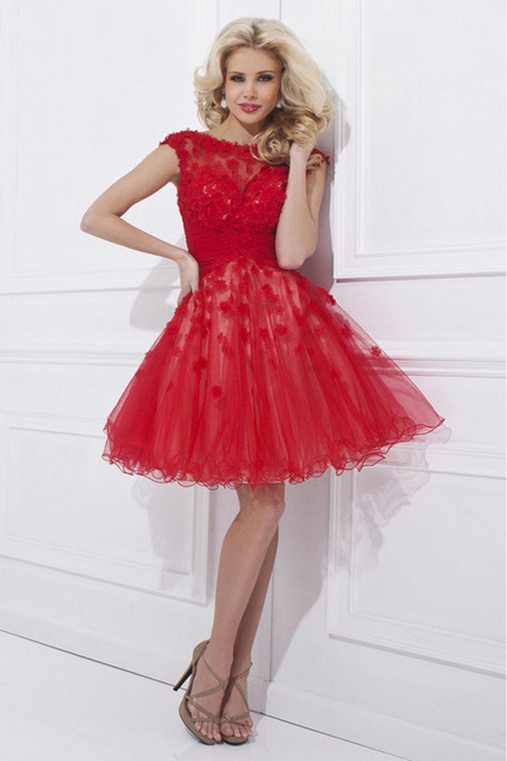 6e159cf24 Red Short Mini Prom Dress – Fashion dresses