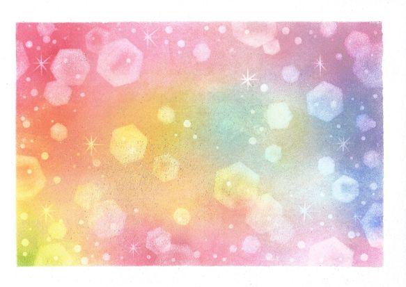 パステルという柔らかな色彩の画材で描いたアートです。キラキラ希望が広がっていくイメージで描きました。パステルアート サイズ:18,2㎝×25,7㎝...|ハンドメイド、手作り、手仕事品の通販・販売・購入ならCreema。