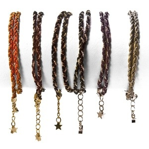 Blair Friendship Bracelet---wraps twice around the wrist and can be worn in the shower or on the beach!