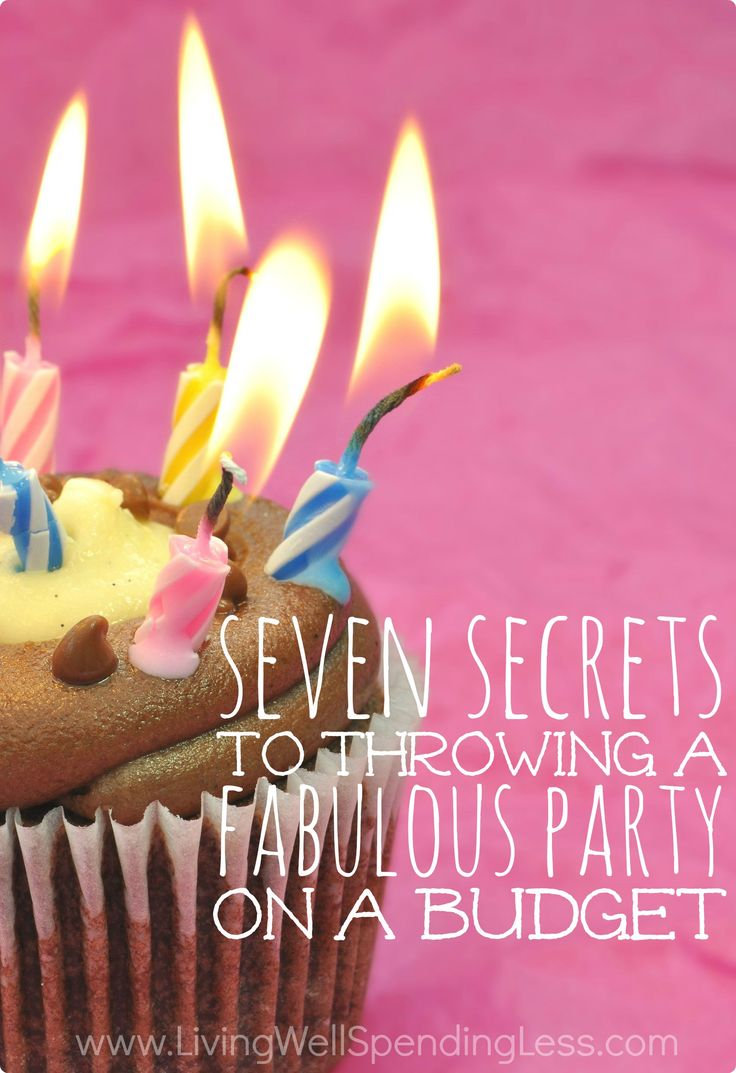 Think throwing an amazing party means spending a fortune? Think again! These seven secrets to throwing a fabulous party on a tiny budget will save you time, money, and possibly your sanity! Believe it or not, most of them have absolutely nothing to do with how much you spend!