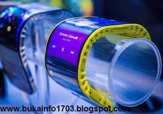TEKNOLOGI: Smartphone Canggih, Dapat Melengkung!!!