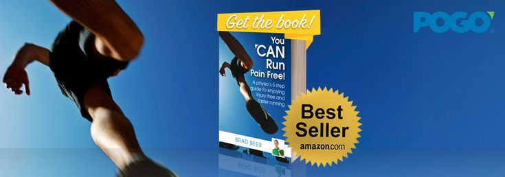 Run Pain Free Book by Brad Beer