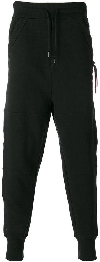 Y-3 drop crotch pants