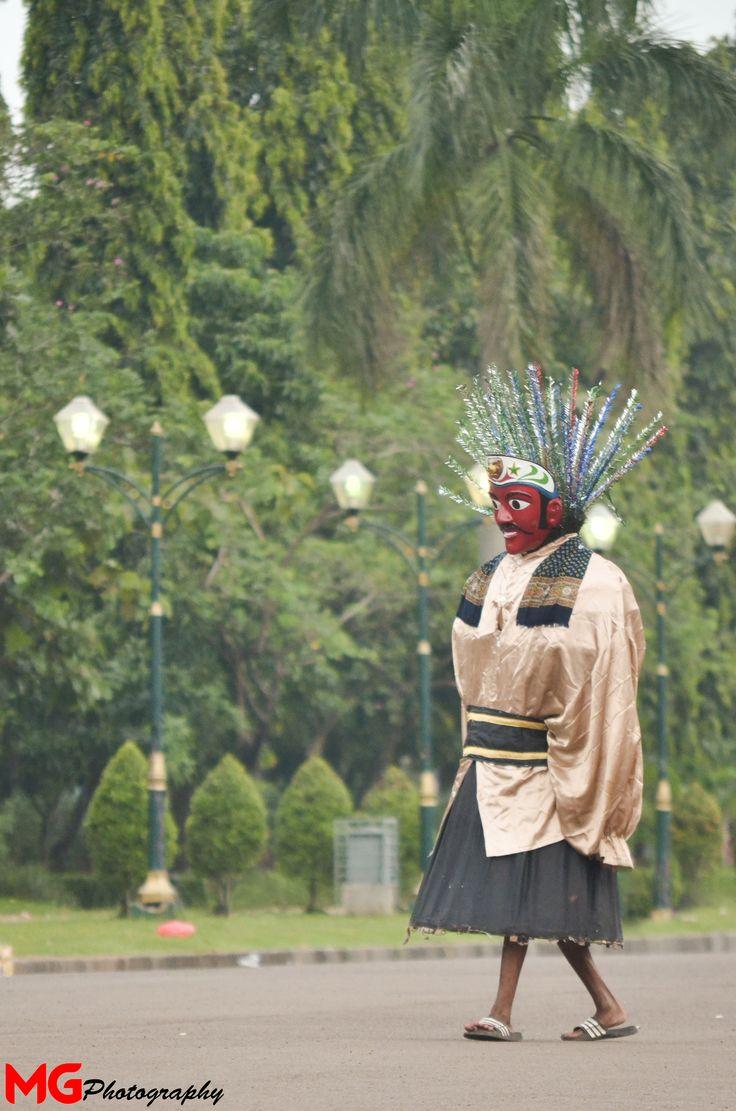 Ondel-Ondel Jakarta @monas