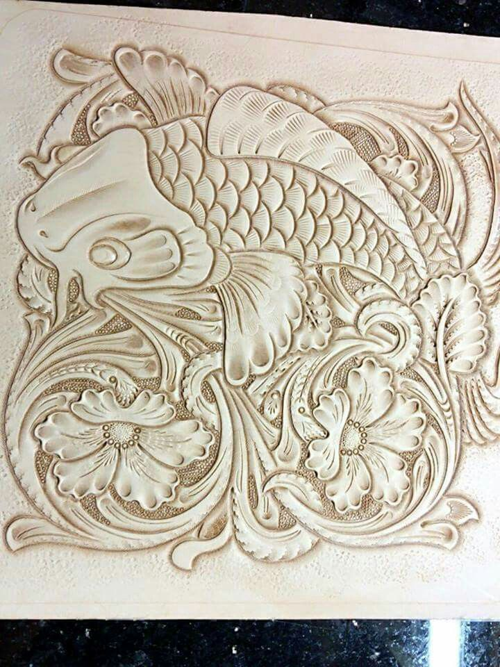 Best images about leather carving on pinterest